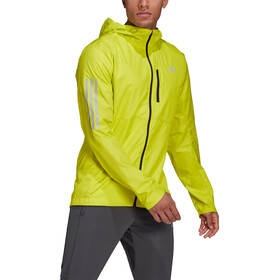adidas OWN The Run Jacket Men, acid yellow